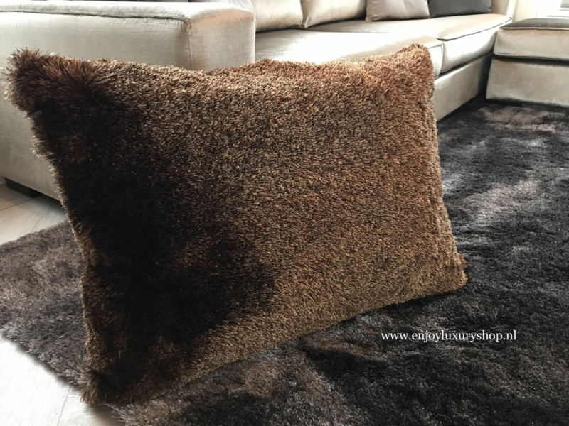 Lounge kussens Cosy Brown (60x80cm)