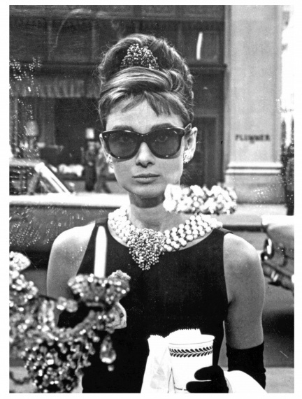 Spiegellijst Audrey Hepburn (1) Window (verticaal)