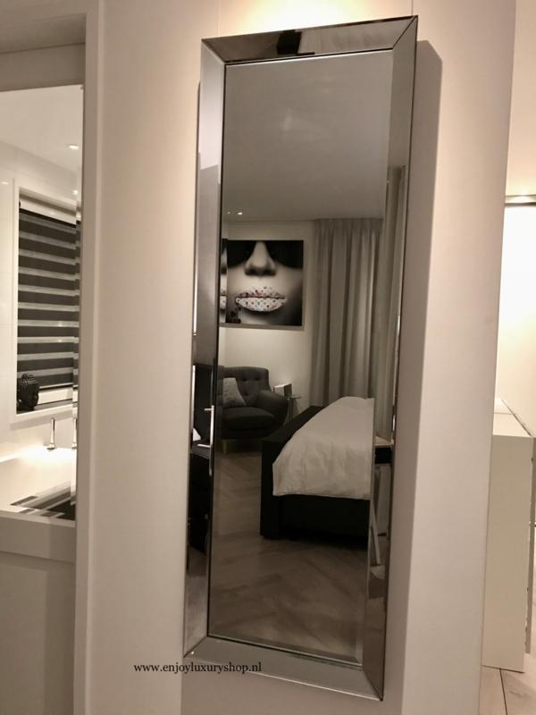 Spiegel Met Spiegelrand.Spiegel Met Spiegelrand 70x130 Spiegellijsten Als