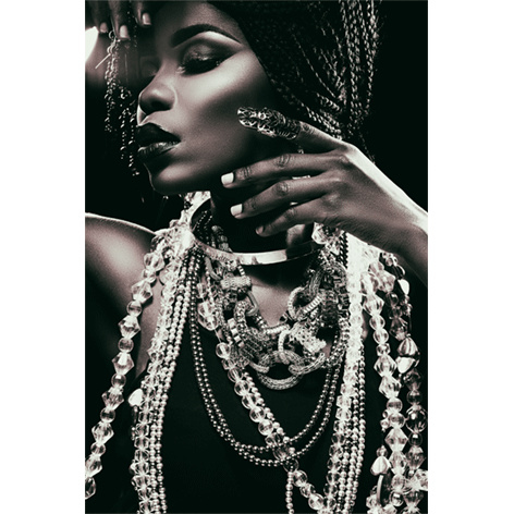 AluArt Kunstwerk - Silver necklaces