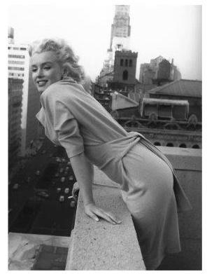 Spiegellijst met poster Marilyn Monroe | Top of the World