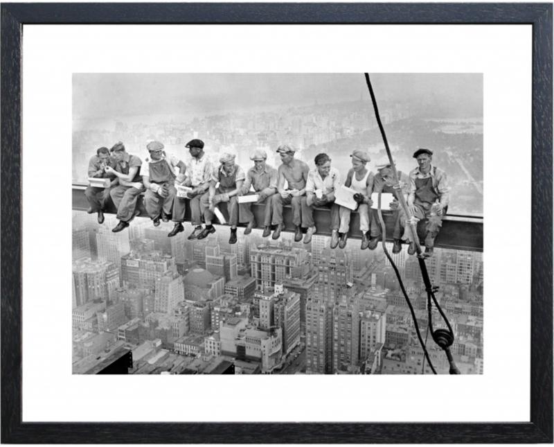 Fotolijst zwart-wit foto 'Balk'
