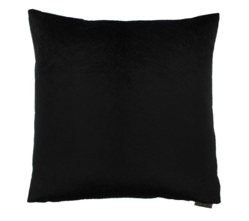 Claudi kussen Perla - Black (45x45)