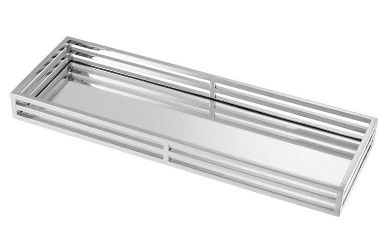EICHHOLTZ Dienblad ERSA - zilver SMALL