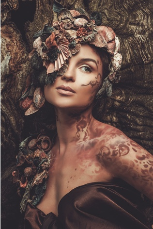 AluArt Kunstwerk - Nymph Woman