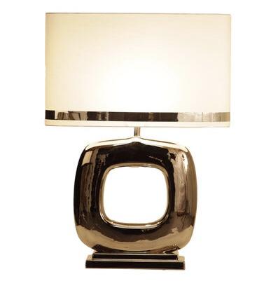 Stout Tafellamp Maxime glans nikkel