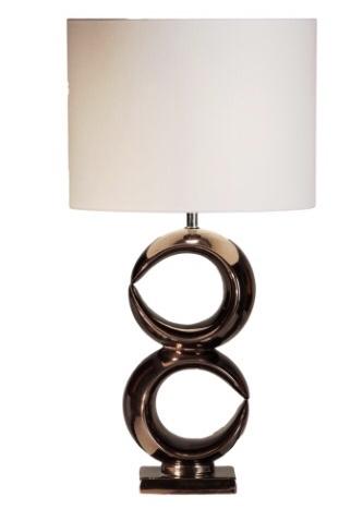 Stout Verlichting Tafellamp Luna (2) 88cm  rosé brons glans