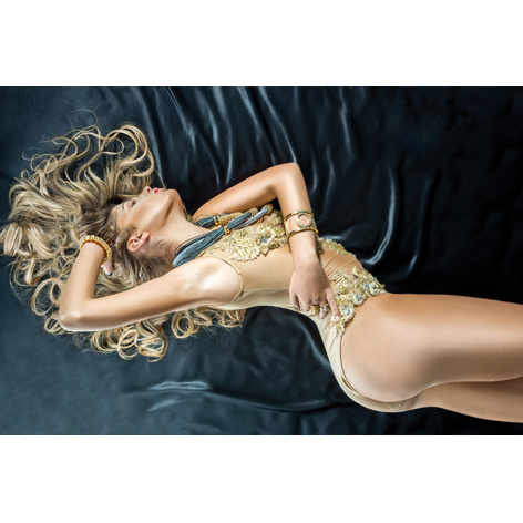 AluArt - Pretty Blonde Woman 80x120