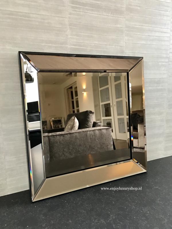 Spiegel met spiegellijst Brons (70x90)