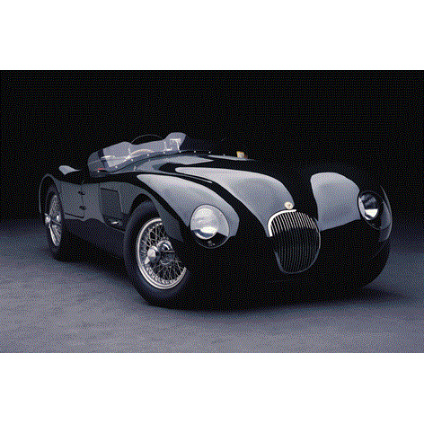 AluArt - Jaguar car 80x120