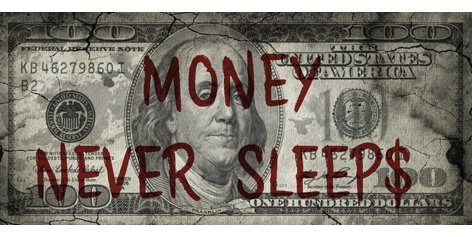 AluArt - Dollar Money Never Sleeps 1603 (90x200)