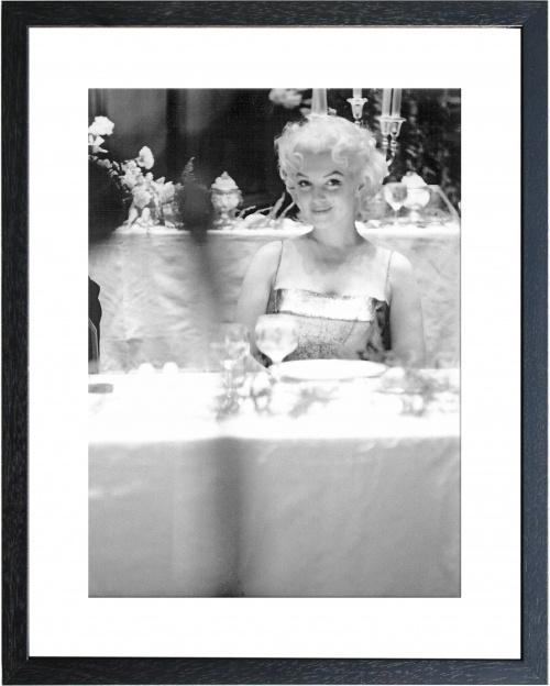 Fotolijst zwart wit foto Marilyn Monroe (1)