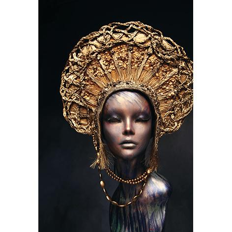 AluArt - Mannequin Golden Head 80x120