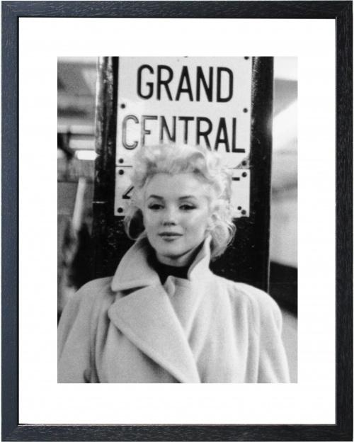 Fotolijst zwart wit foto Marilyn Monroe Central (3)