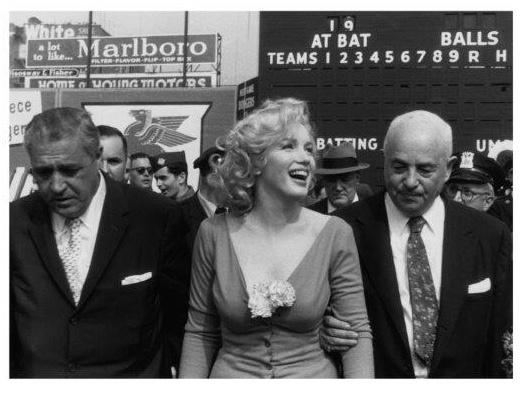 Spiegellijst met Marilyn Monroe 'Military'