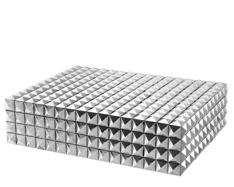 EICHHOLTZ Luxe doos 'Vivienne' (L) zilver