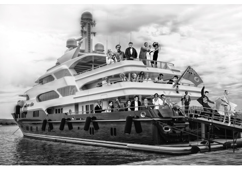 AluArt - The Ark Celebrities 120x180