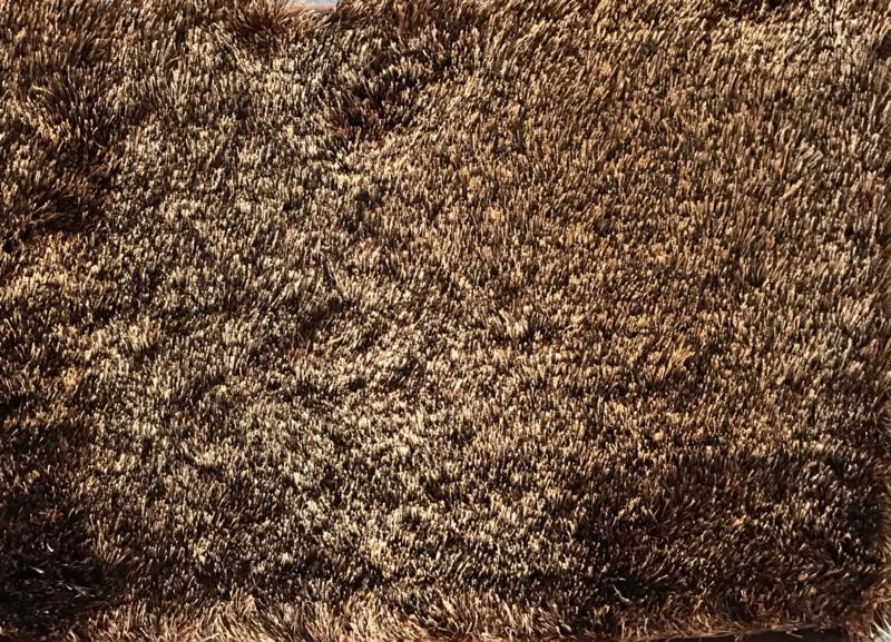 Luxe vloerkleed velours fluweel - Cosy Brown (N18)