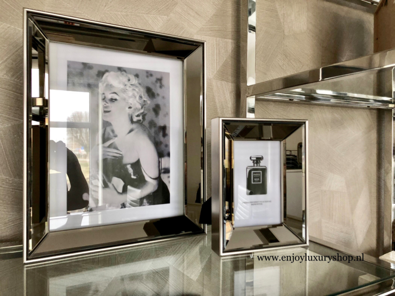 Spiegel Fotolijsten met standaard BRONS