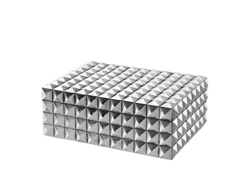 EICHHOLTZ Luxe juwelendoos 'Vivienne' (S) zilver