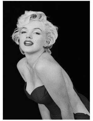 Spiegellijst met Marilyn Monroe Portret (3)