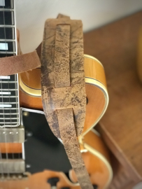 Liam's Vintage Style gitaarband Old Brown - vintage style guitar strap
