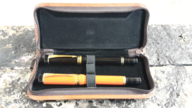 Pen case with zipper (3 pens).