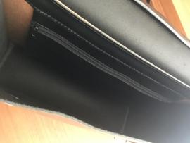 LIAM'S Aktetas - Enkelvak Medium - Zwart
