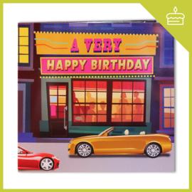 A VERY HAPPY BIRTHDAY (LIGHT & MUSIC)
