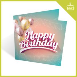 MUZIEKWENSKAART - HAPPY BIRTHDAY (60 SEC.)