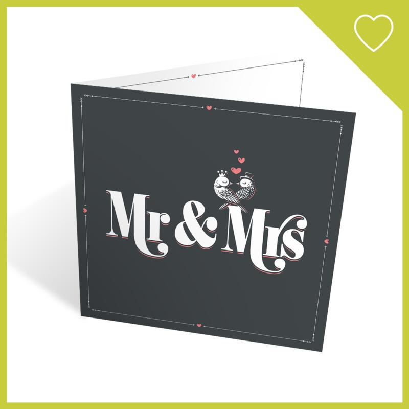 MUZIEKWENSKAART - MR & MRS (60 SEC.)