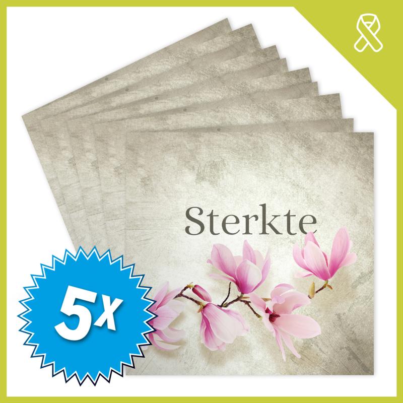 MUZIEKWENSKAART - STERKTE (60 SEC.) x5