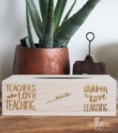 Tissuedoos Teacher