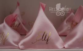 satijnzakjes driehoek