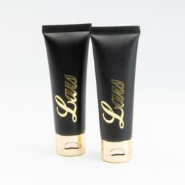 Handcrème zwart gouden klapdop - 50 ml