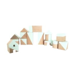 Mint geometrische blokken