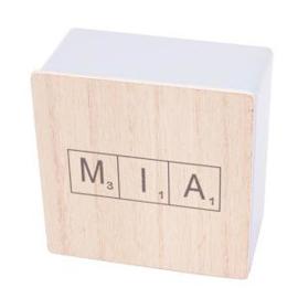 Scrabble doosjes met naam