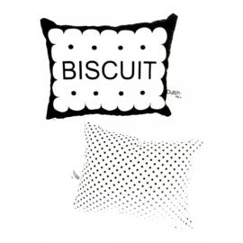 Witte biscuit rammelaar