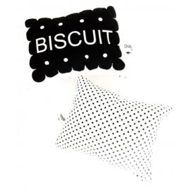 Zwarte biscuit ramelaar