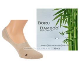 BAMBOE | SNEAKER-SOCK | BEIGE | NAADLOOS | BORU