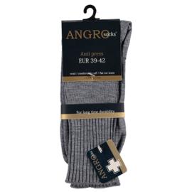 Wollen sok (grijs) l ANGRO