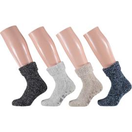 Huissokken Natural Wool l KINDER l APOLLO