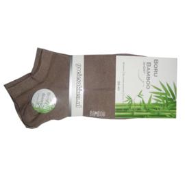 Bamboe short sock l 2 TINTEN BEIGE l NAADLOOS l BORU