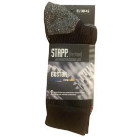 Stapp Boston | Wandel | Werksokken | ZWART | STAPP