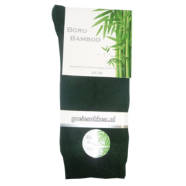 Bamboe-sok l DONKER GROEN l NAADLOOS l BORU