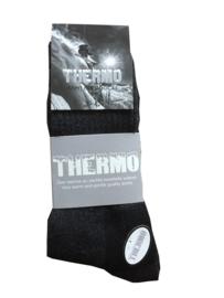 Thermo sokken l ZWART - ZWART l WARM EN STERK l HARCO