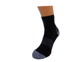 Running sock (zwart) l ULTRA