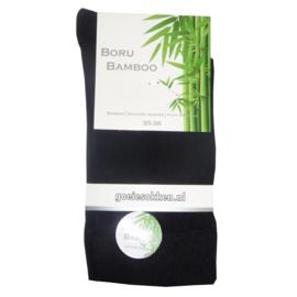 Bamboe-sok l ZWART l NAADLOOS l BORU