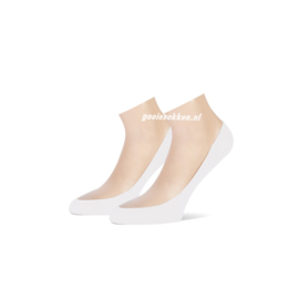 Ballerina kousevoetje (wit) l TECKEL