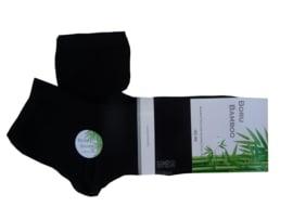 Bamboe Biker Sock | ZWART | NAADLOOS | BORU